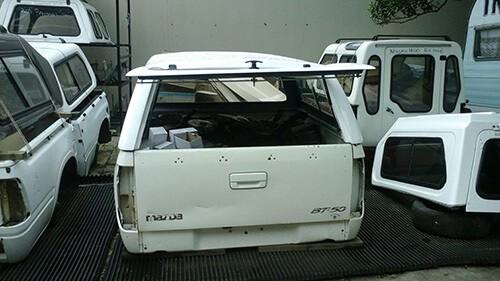 2008/2011 - Ford Ranger - Mazda Double Cab - Half Door Canopy-3
