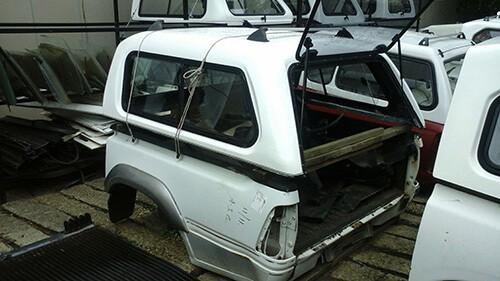 2008/2011 - Ford Ranger - Mazda Double Cab - Half Door Canopy-2