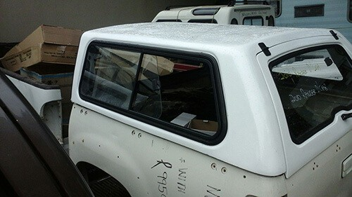 2008/2011 - Ford Ranger - Mazda Double Cab - Half Door Canopy-1