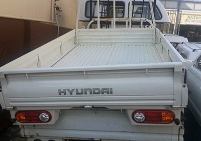 Hyundai Dropside loading bin Complete with Tail Lights - White-1