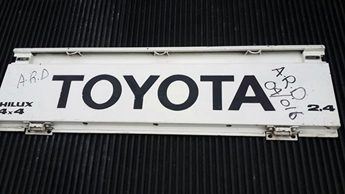 Toyota Hilux 1995-1997 YN Series Tailgate-2