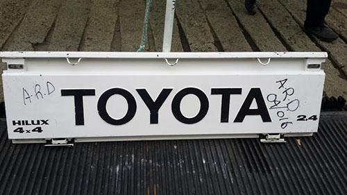 Toyota Hilux 1995-1997 YN Series Tailgate-1