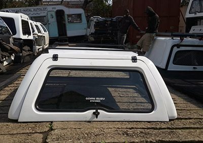 Isuzu 2006-2011 Go Big Double Cab Half Door Canopy