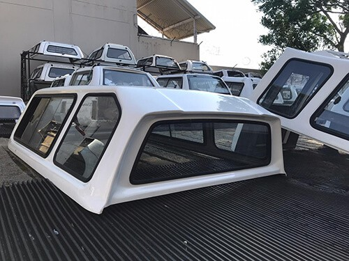 Toyota Hilux 2019 LWB Beekman Canopy Gd6 Half Door